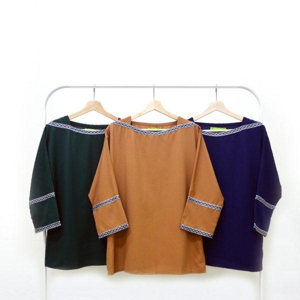 Fesyen Rasa Sayang, blouse muslimah malaysia, Berry Blouse Muslimah All Color