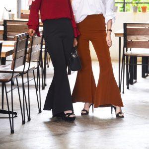 Fesyen Rasa Sayang, pants muslimah, Aubrey Pants Black and Brown Color