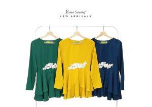 Fesyen Rasa Sayang, blouse muslimah malaysia, Savanah Blouse Muslimah All Colors