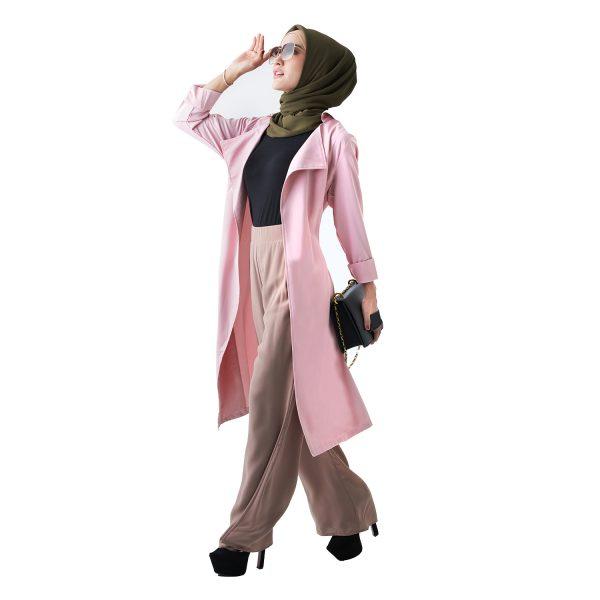 Berlee Cardigan Pink (2)