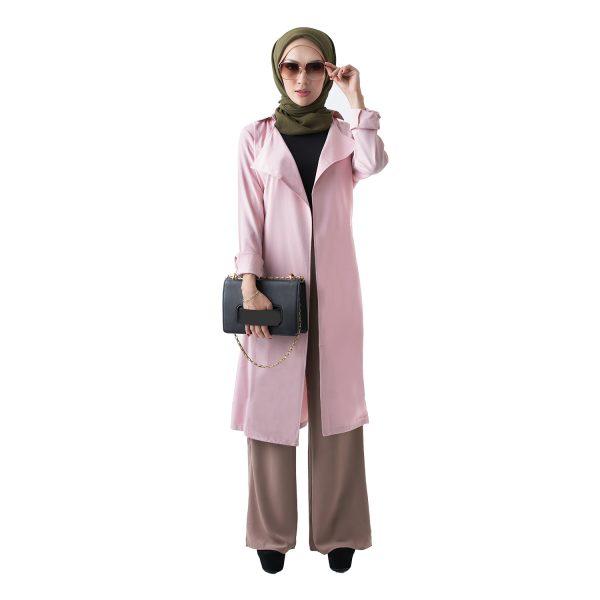 Berlee Cardigan Pink (3)