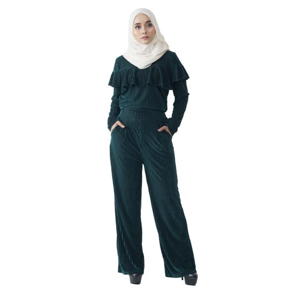 Margaret Set Green Color Front