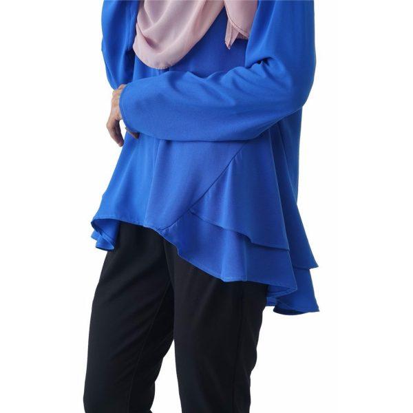 Raffles Blouse Muslimah, Fesyen Rasa Syang, Muslimah Blouse