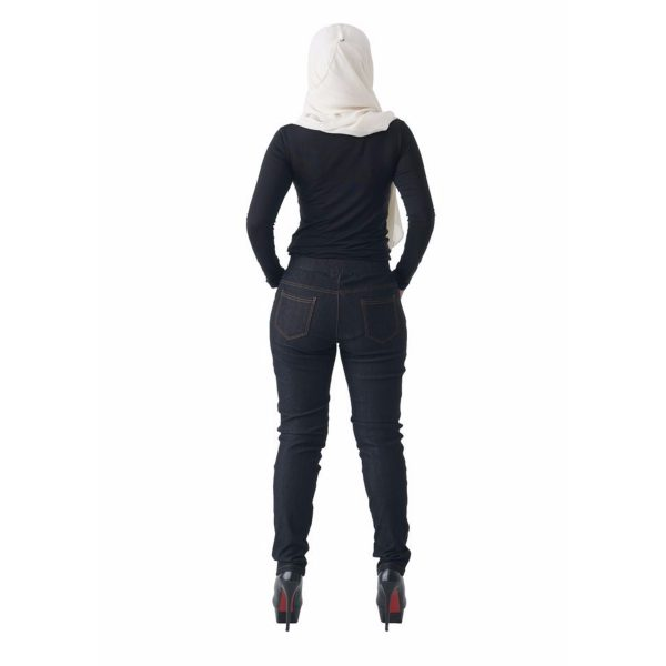 Fesyen Rasa Sayang, long pants, Rico Jeans Long Pants Black Color Back