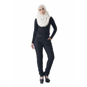Fesyen Rasa Sayang, long pants, Rico Jeans Long Pants Black Color Front