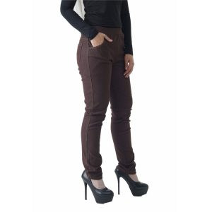 Fesyen Rasa Sayang, long pants, Rico Jeans Long Pants Brown Color Close