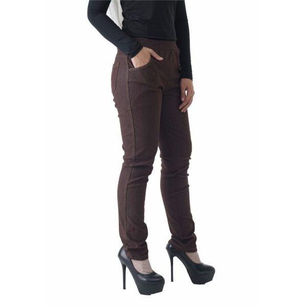 Fesyen Rasa Sayang, long pants, Rico Jeans Long Pants Brown Color Close