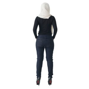Fesyen Rasa Sayang, long pants, Rico Jeans Long Pants Dark Blue Color Back