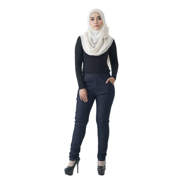 Fesyen Rasa Sayang, long pants, Rico Jeans Long Pants Dark Blue Color Front
