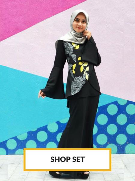 Fesyen Muslimah, Fesyen Rasa Sayang, Muslimah Set, Fesyen Rasa Sayang Fesyen Muslimah Set Malaysia