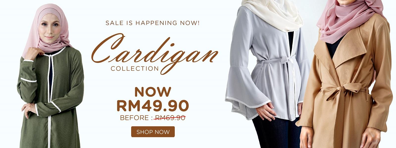 Rasa Sayang Cardigan Collection