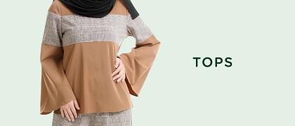 Rasa Sayang Top Fesyen Muslimah