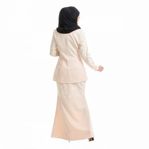 Salina Kurung Cream Back