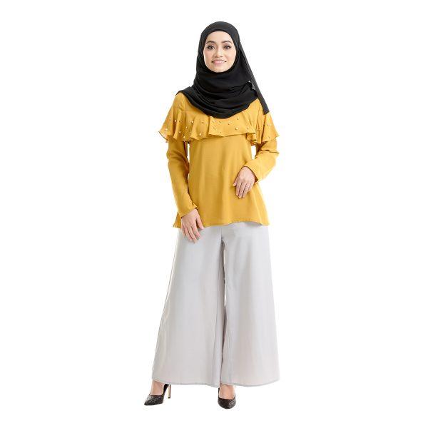 Delisha Blouse Honey Yellow