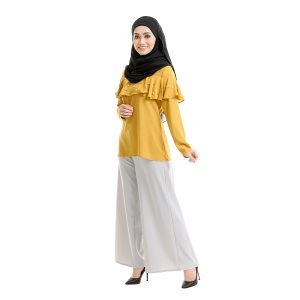 Delisha Blouse Honey Yellow Left View