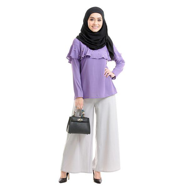 Delisha Blouse Purple