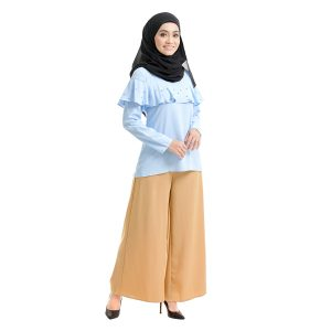 Delisha Blouse Sky Blue Right View