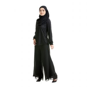 Helena Blouse Black Side