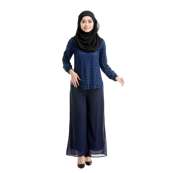 Helena Blouse Dark Blue