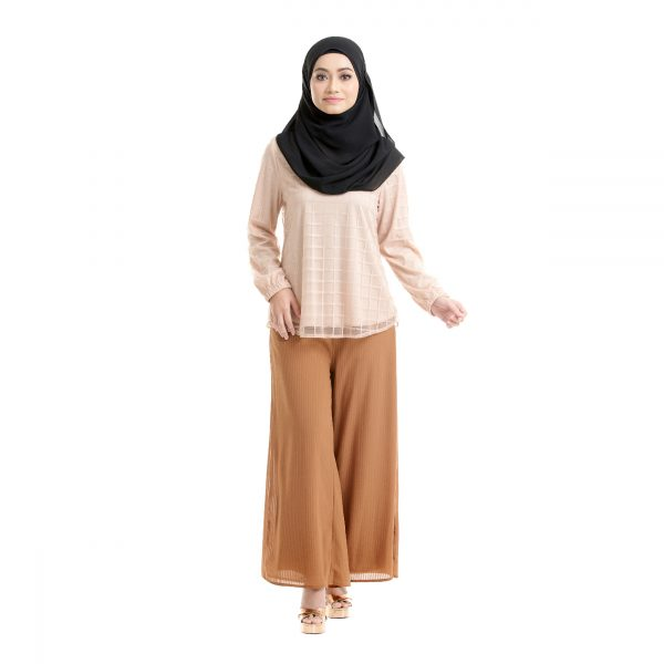 Helena Blouse Light Brown