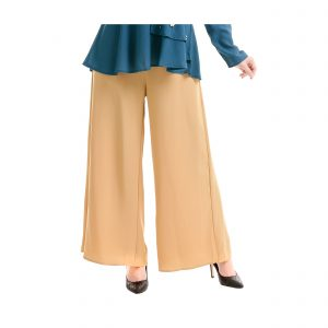 Sara Palazzo Pants Light Brown