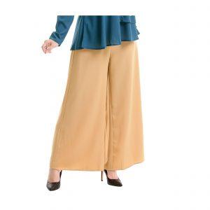 Sara Palazzo Pants Light Brown Side