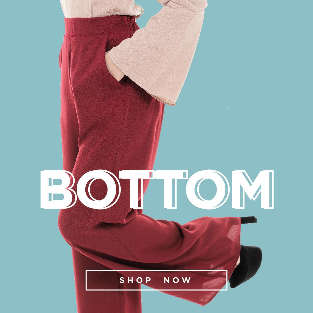 Homepage Bottom Fashion Banner