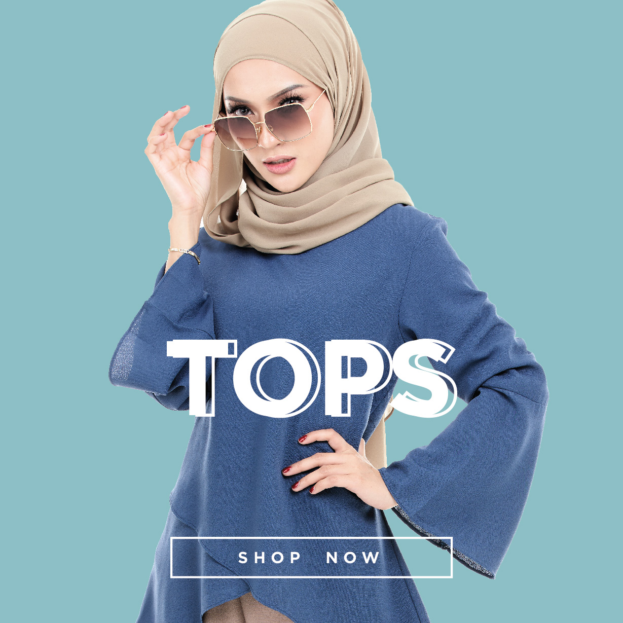 Homepage Tops Fashion Banner