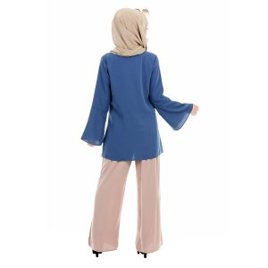 Mawar Blouse Blue 4