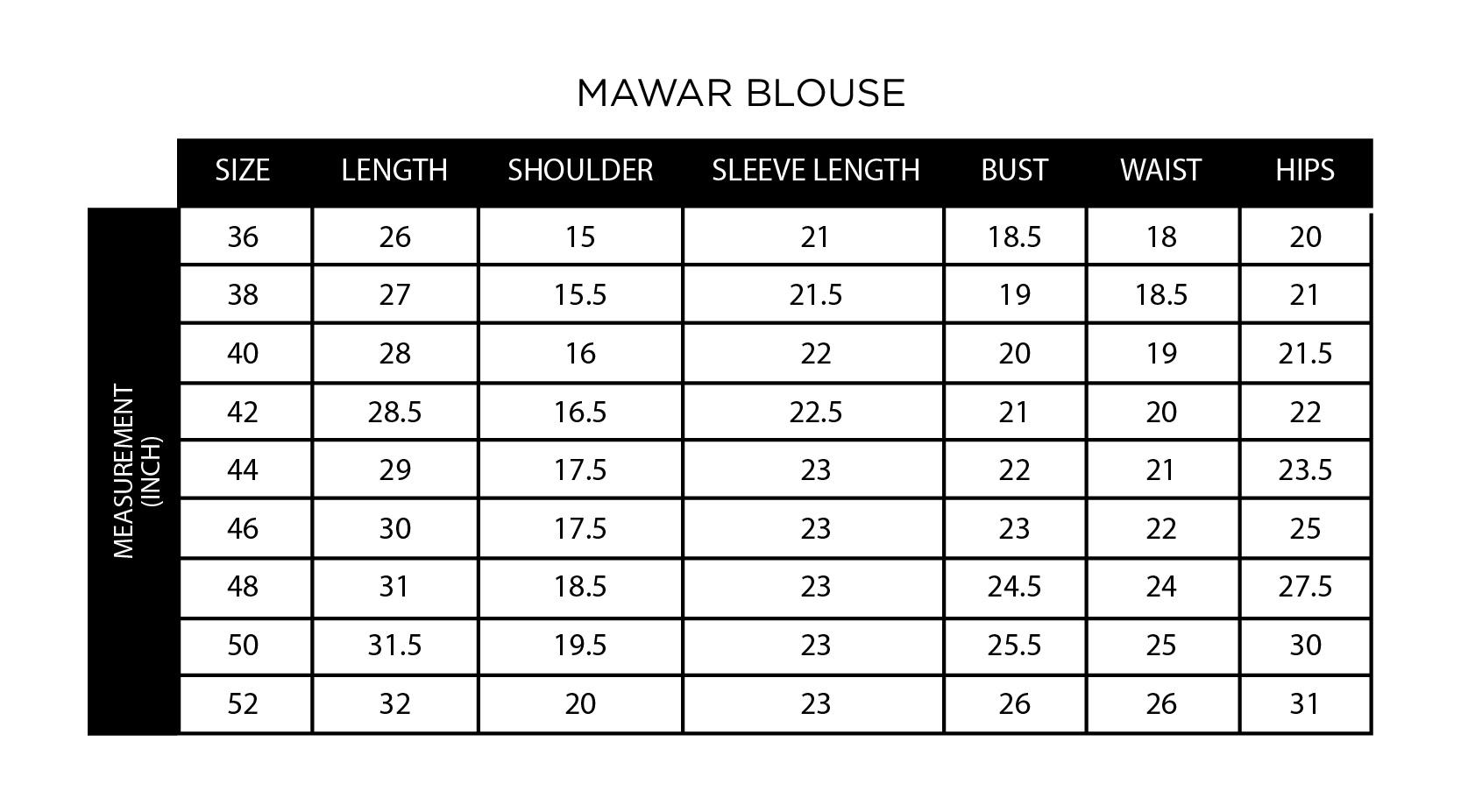 Mawar Blouse Muslimah In Cream