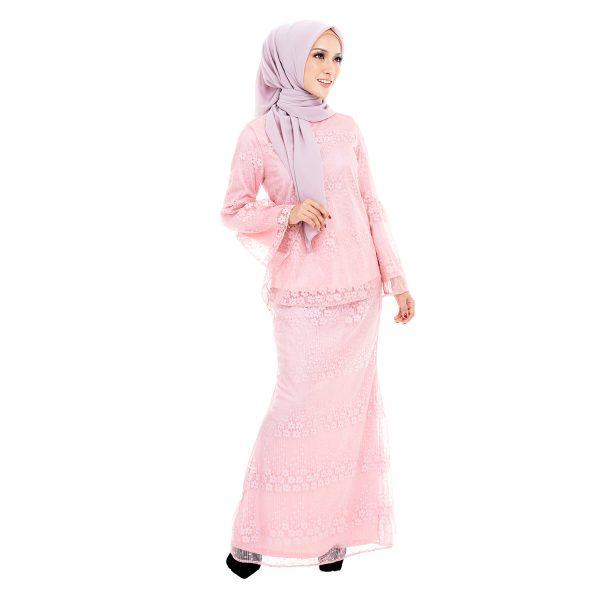 Rindiani Kurung Pink 2