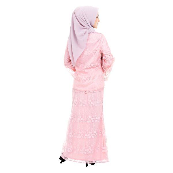 Rindiani Kurung Pink 3