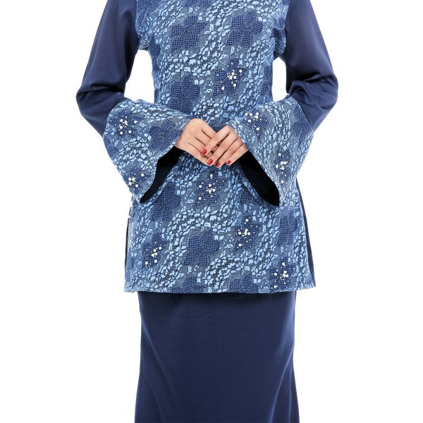 Suzana Kurung Blue 3
