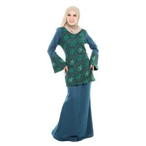 Suzana Kurung Green 1
