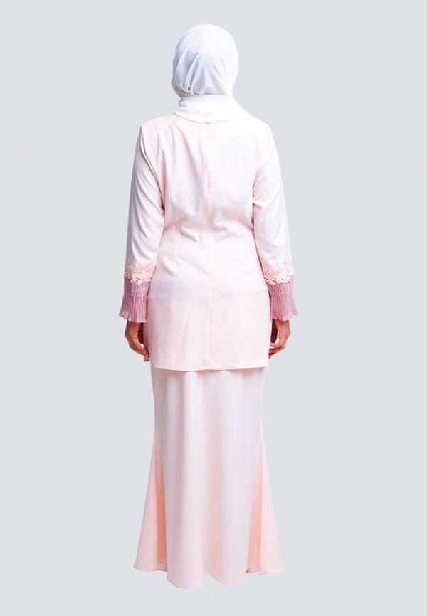 Aaina Kurung Pink 4