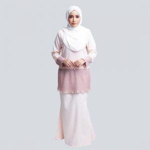 Aaina Kurung Pink W (1)