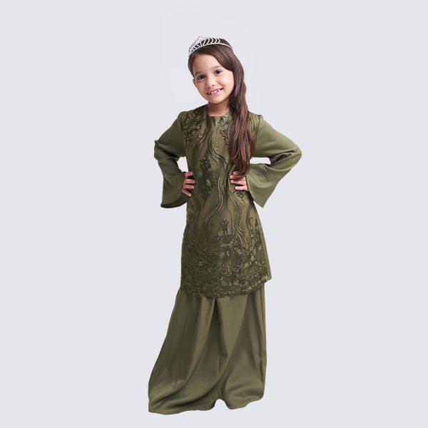 Amna Kids Green W