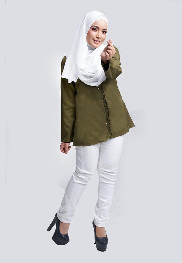 Aara Blouse Green 2 Copy