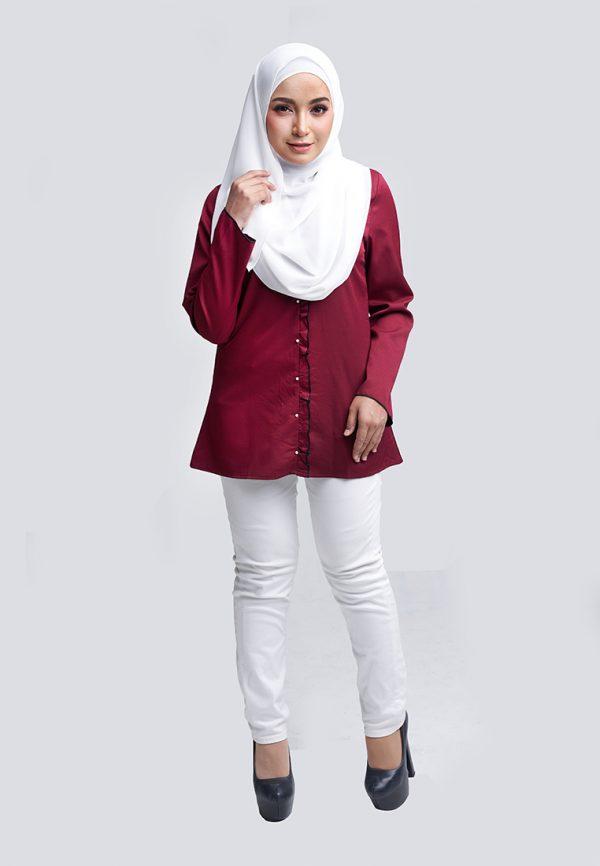 Aara Blouse Red 3