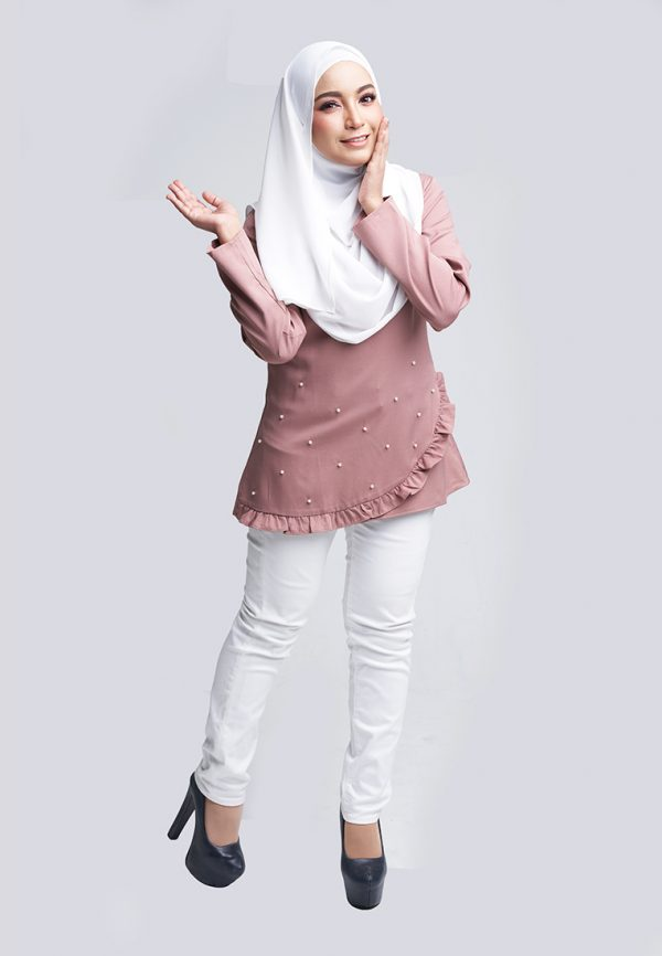 Tiara Dusty Pink 2