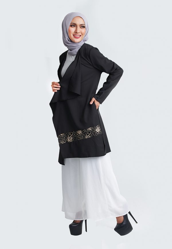 Rosy Cardigan Black 4