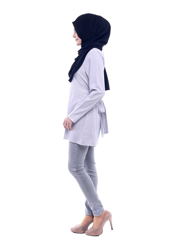 Peris Blouse Grey 1