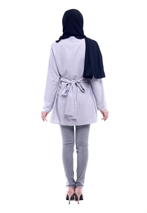 Peris Blouse Grey 2