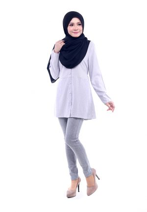 Peris Blouse Grey 4