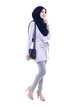 Peris Blouse Grey 5