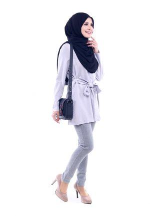 Peris Blouse Grey 5