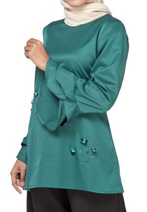 Mim Blouse Green (2)