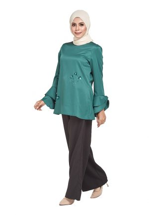 Mim Blouse Green (3)