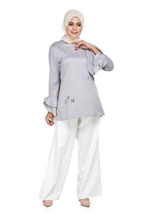 Mim Blouse Grey (1)