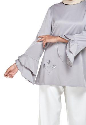 Mim Blouse Grey (2)